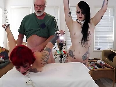 Amelia Dire/Mallory Maneater (DSC4-7) Extreme BDSM Enslavement Anal Triad Doggystyle Pussyfucking Ready-mixed Paddling Chastising