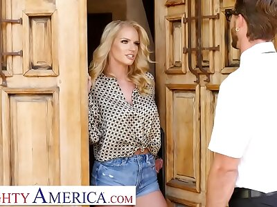 Spoiled America - Rachael Cavalli fucks a firsthand affiliate of will not hear of son