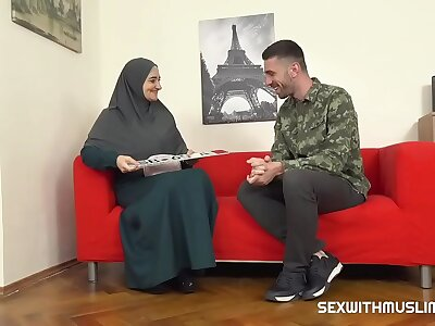 Hot muslim fit together gets fucked everlasting