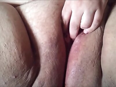 Big Fat Shaved BBW Clumsy Pussy Closeup