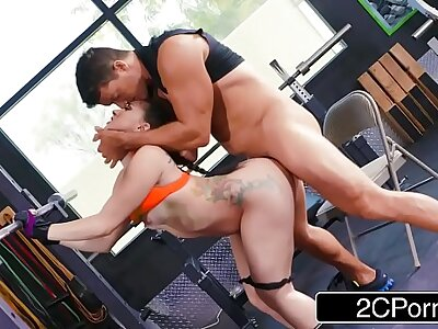Unconstrained Aggravation Mandy Star-gaze Loves Forth Squat with an increment of Anal