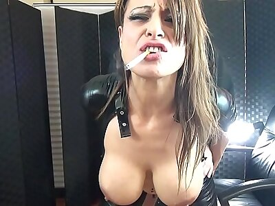 Cum saddle with on will not hear of element Fucking plus Facial (Cuckold)