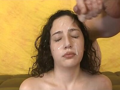 Shady Not roundabout Rough Face Having it away With an increment of Facial Cumshot