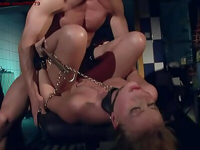 Hunting a slave in the city. The maximum effort superb puppy. BDSM movie. Hardcore slavery sexual connection coupled with humiliation.